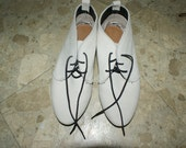 vintage 50's DANIEL GREEN OUTDORABLES winter white suede chukka boots 6.5