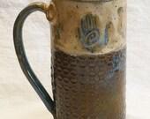 healing hand ceramic coffee mug 20oz stoneware 20A063