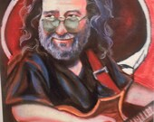 Jerry Garcia  (LIMITED EDITION PRINT)