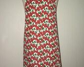 Cherry Cherries Fabric 'Kitchen Basics' Woman's / Ladies Apron - Birthday, Mother's Day Gift Idea