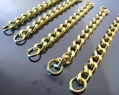 Finding - 4 pcs Chain Link Bracelet - Charm Bracelet Base