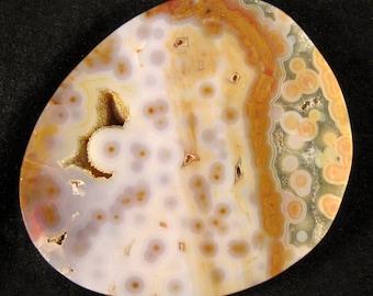 Ocean Jasper Medallion    ETOJ037