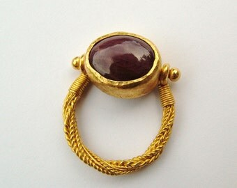 22K gold Ruby ring