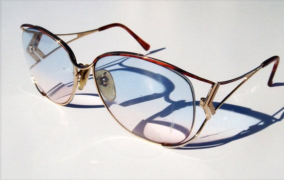 Vintage Tura eyeglasses gold frame made in Japan