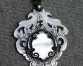 Reserved Listing for Annie 1927 Sterling silver watch fob