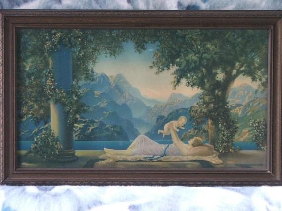Vintage 1925 R Atkinson Fox Love S Paradise