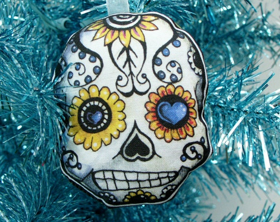 Sugar Skull Christmas Decoration Day of the Dead by ...