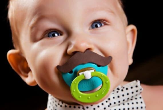BPA Free, Choose Your Mustache, NUK, Mustache Pacifier