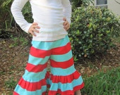 Little Girls, Toddler, or Baby Ruffle Pants
