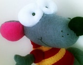 Cute Toopy . made to order. soft plush