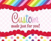 """Kaelyn's """"Big 4"""" Birthday Set (Reserved for Wren Busby)"""
