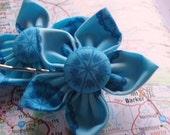 "Kanzashi Flower Bobby Pins ""Terri"" x 2 Funds to FITE"