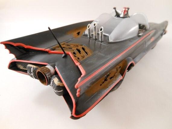Batmobile 1/24 scale model car in black