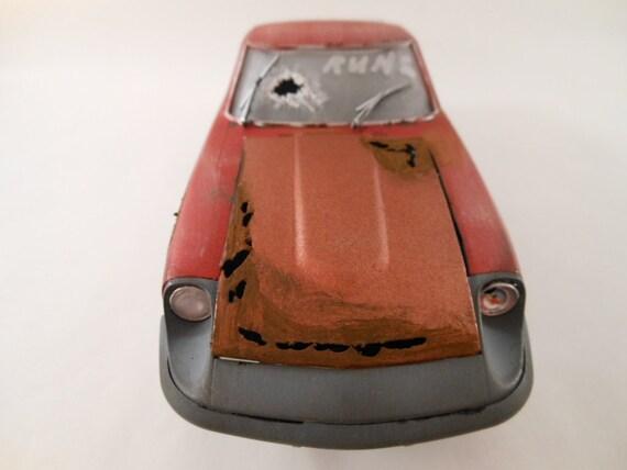 1980s Datsun z car 1/24 scale model in red
