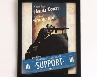Battlefield Support Tips Print