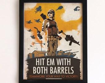 Battlefield Engineer Tips Print