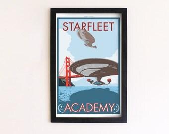 Starfleet Academy Print