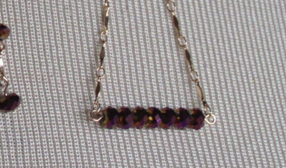 Facets of Purple Bracelet