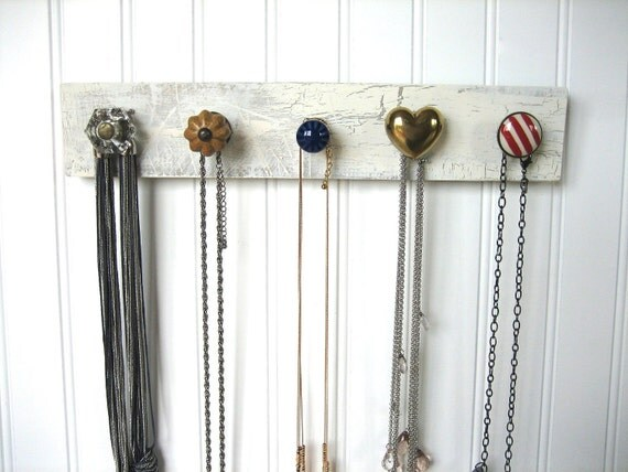 Nautical Necklace Organizer for Hanging Jewelry