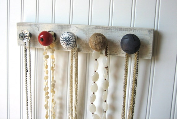Nautical Jewelry Holder for Hanging Necklaces