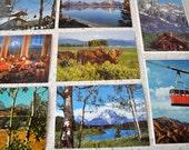 Grand Tetons Postcard Collection set of 8