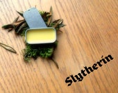 "Harry Potter themed fragrance -- Slytherin Solid Perfume -- ""Craftiness and Ambition"" -- for Harry Potter fans"