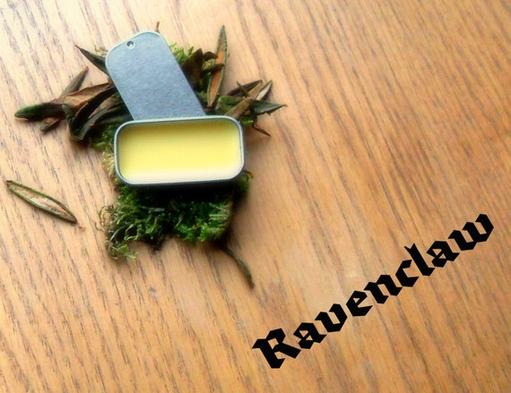 """Harry Potter themed fragrance -- Ravenclaw Solid Perfume -- """"Wit and Wisdom""""-- for Harry Potter fans"""