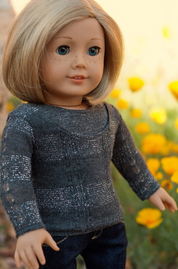 Doll Clothes: Two Piece Sweater and Tank Top Set for an American Girl Dolls or other 18 Inch Dolls