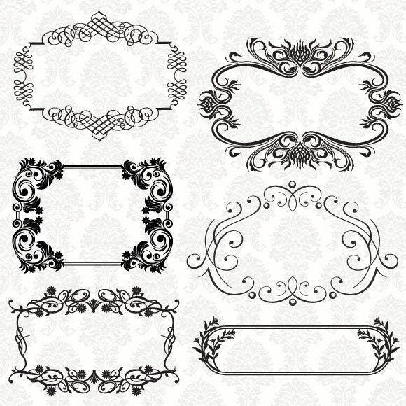 Image Gallery Label Borders