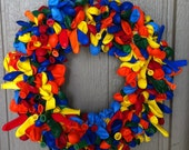 "14 "" Balloon Wreath"