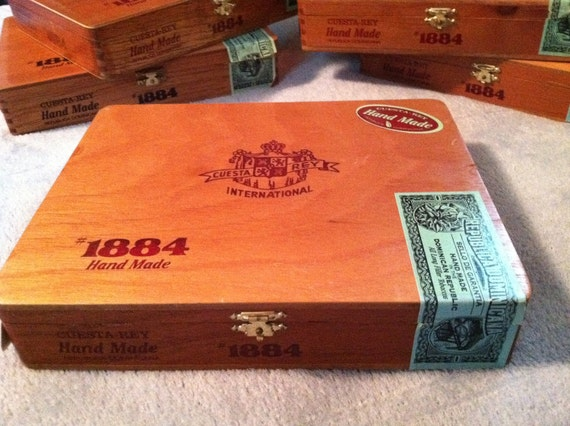Cuesta Rey International Cigar Box Hand Made in Republica Dominicans