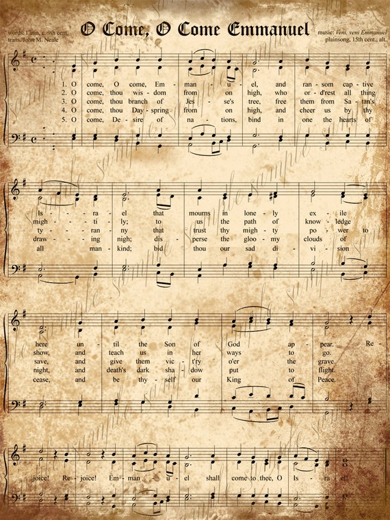 photo about Free Printable Vintage Christmas Sheet Music identify Xmas Printable Tunes - Xmas Decorations Recommendations