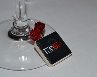 True Blood Wine Charm Set