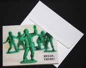 Hello There Military Men Note Card Set of 8
