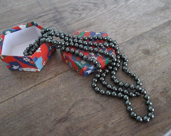 Vintage Beads  Long Necklace