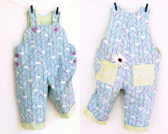 Sweet Comfy Baby Romper Pattern Pdf Sewing Overall