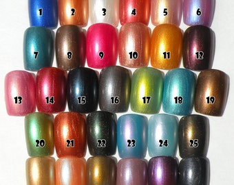 Choice of 10 Nail Polishes 8ml Vegan Non-Toxic