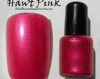 Hawt Pink Nail Polish 8 ml Vegan Non-Toxic