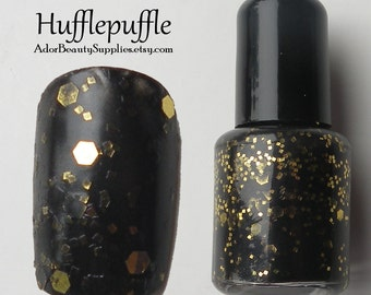 Hufflepuffle Nail Polish 8ml Vegan - Glitter Polish