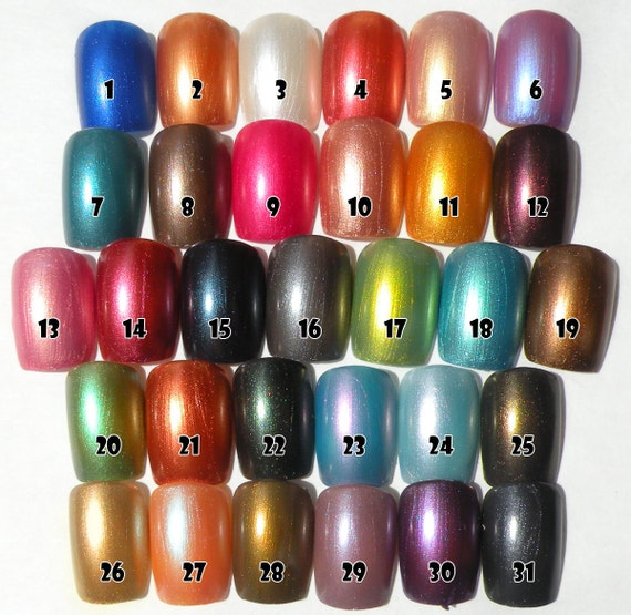 Choice of 3 Nail Polishes 8ml Vegan Non-Toxic