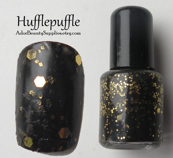 Hufflepuffle Nail Polish 8ml Vegan - Glitter Polish