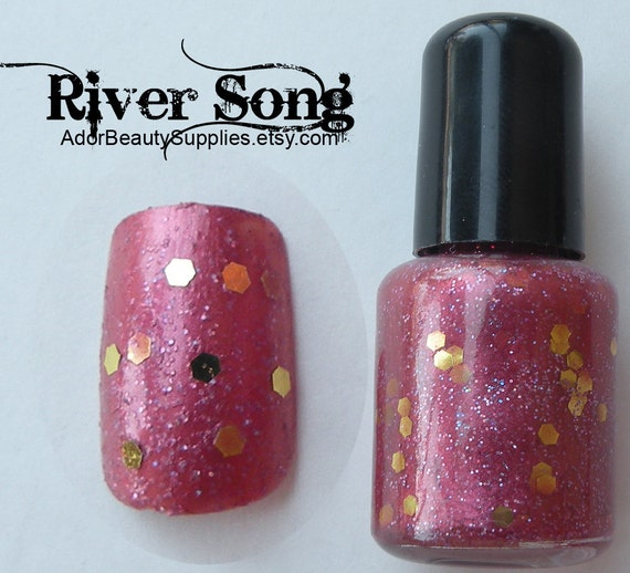River Song Nail Polish 8 ml Vegan Non-Toxic G18
