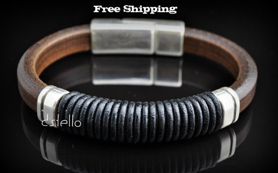 Brown Spanish Leather Bracelet