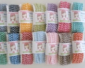 Baker's Twine....PICK Your COLOR.....15 Yards......Packaging, Scrapbooking, Gift Wrapping, Embellishing Wedding / Favor Bags