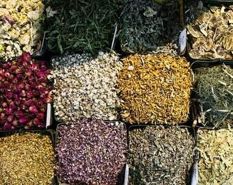 30-Herb Starter Sampler Set  (Organic and Wild Harvested Herbs)