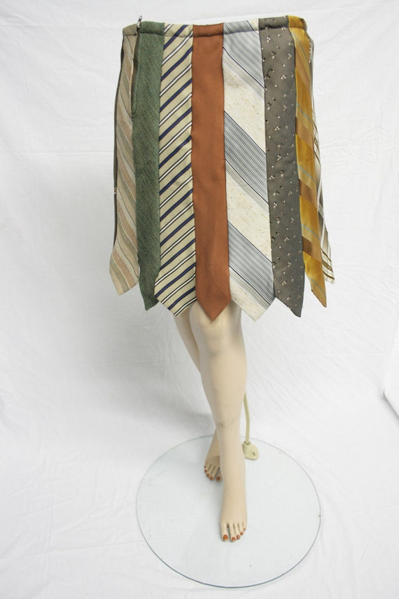 Skirt Made From Ties 36