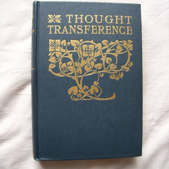 1905 Thought Transference book