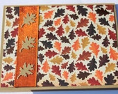Thanksgiving Cards - Fall Leaves