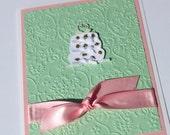 Wedding Card- Shabby Chic