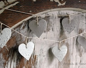 Clay Garland - Petite French Hearts